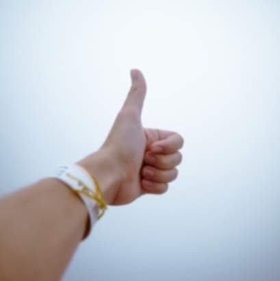 Positive Philosophy Thumbs Up