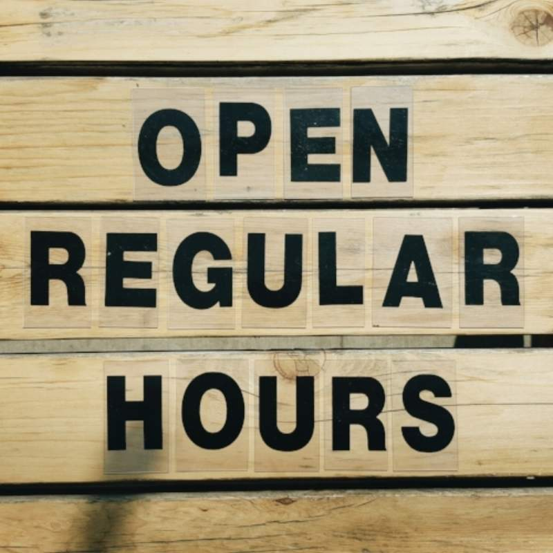 Regular Hours